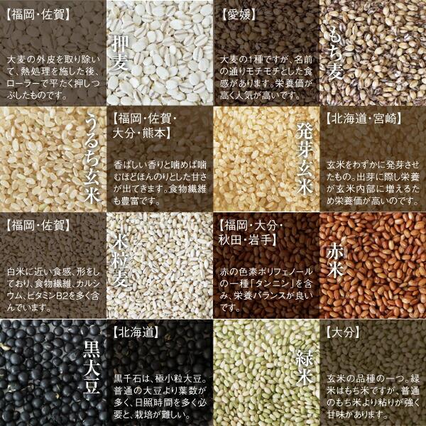 国産30種類の雑穀ご紹介2
