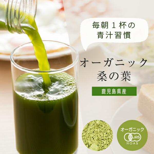 鹿児島県産オーガニック桑の葉青汁