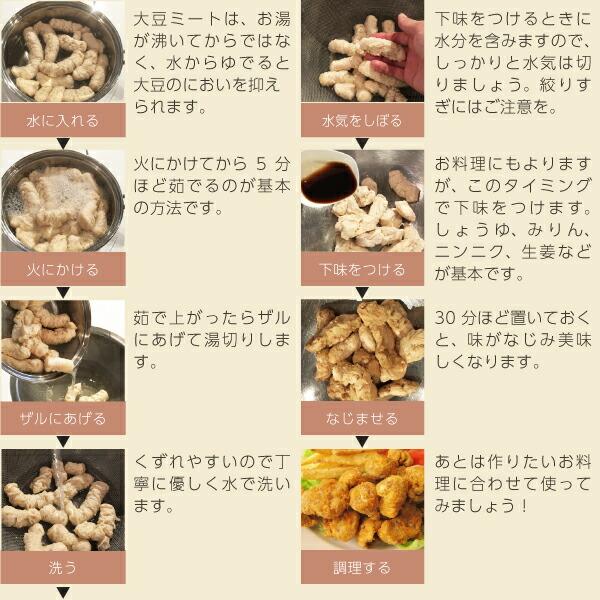 大豆ミートの利用方法