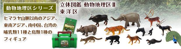 立体図鑑 動物地理区 東洋区