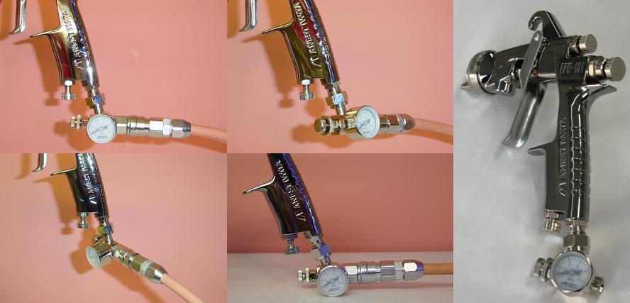 Adjustable Spray Gun Manufacturers Mail: Colorbucks: Feed Air ANEST Iwata Earnest Rock Field, AJR