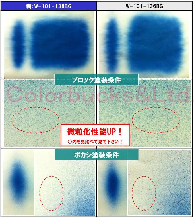塗装微粒子化性能UP