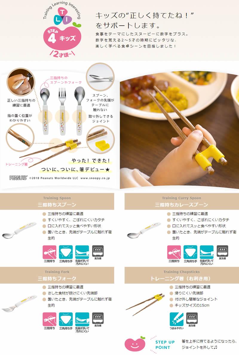 トライ トレーニング箸(右利き用)
