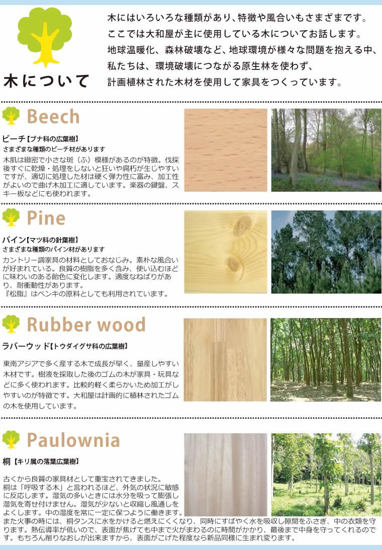 大和屋の木について