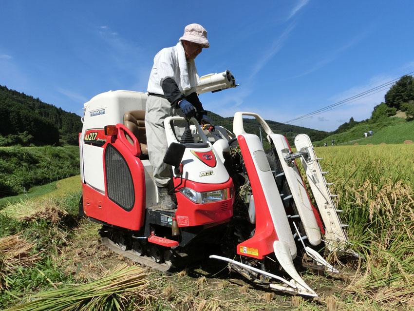 全国棚田百選・あきたこまち・減農薬米・低農薬米・有機栽培米・色彩選別機・北山昇