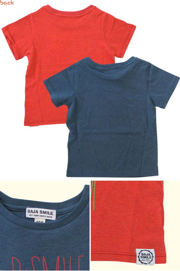 BAJA(バハ)HappyLifeTシャツ【子供服(こどもふく) 80-120】