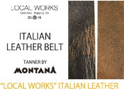 LOCAL WORKS ITALIAN Leather