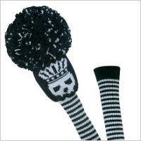 Head cover DR scull black