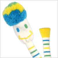 Head cover FW ラブピッ ☆ is colorful