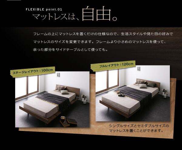 ベッド ローベッド フロアベッド
