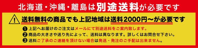 北海道沖縄離島送料別途