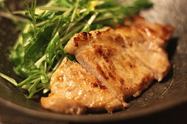豚王ロースの粕漬焼き