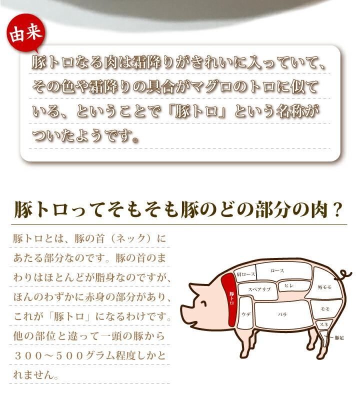 常陸ポーク[旨]豚トロ オリジナル醤油だれ300g