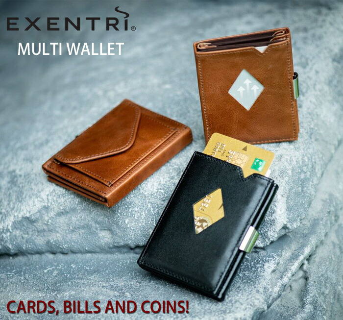 EXENTRI,エキセントリ,ミニマルウォレット,ミニ,財布,ノルウェーデザイン