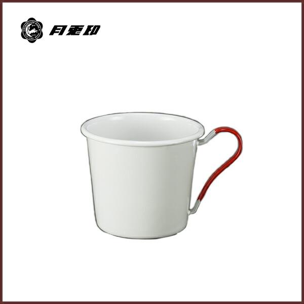 【月兎印】マグカップ レッド