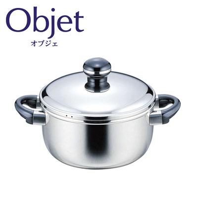 オブジェ,objet,宮崎製作所,miyaco,ステンレス,両手鍋