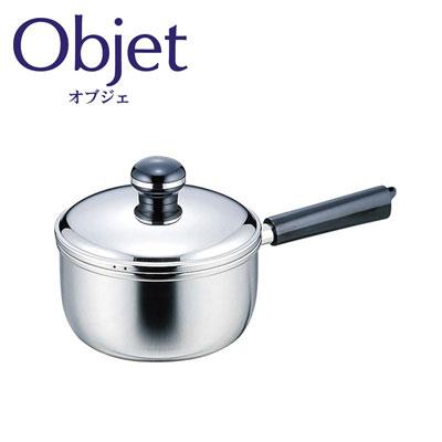 オブジェ,objet,宮崎製作所,miyaco,ステンレス,ソースパン