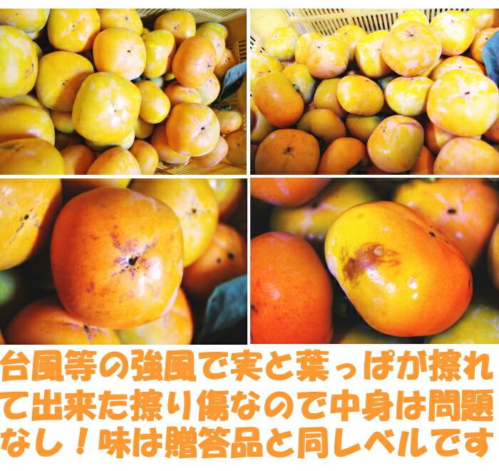 奈良訳あり種なし柿ベネ4