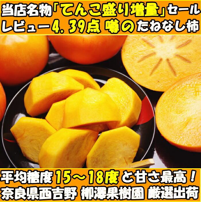奈良たねなし柿ファースト