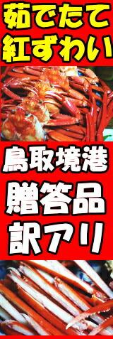 鳥取紅ずわい蟹はこちら!