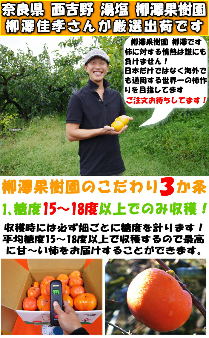 奈良柳澤果樹園紹介1