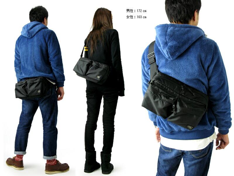 8cfb586ad3e3 coolcat  Yoshida bags Porter force 2-WAY bag L (men s waist pouch ...