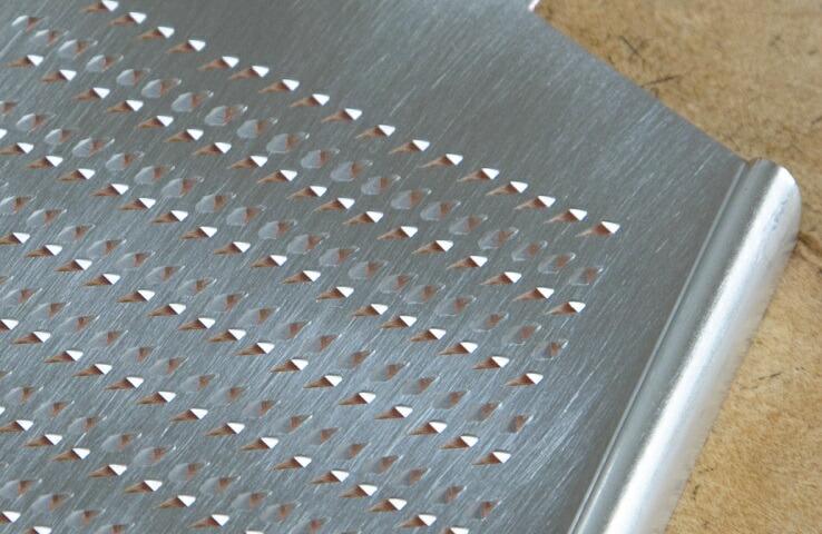 純銅製おろし金 片面4番 大根用 純銅 スズメッキ おろし金 料理 キッチン用品 羽子板型 手作り 日本製