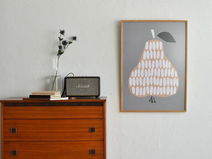 読みもの 木製フレームで飾るこだわりのポスター