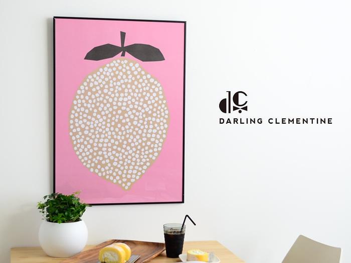 DARLING CLEMENTINE Lemmon ポスター 50×70cm