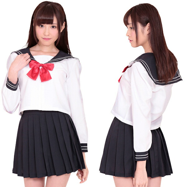 Prep school girl outfit-8359