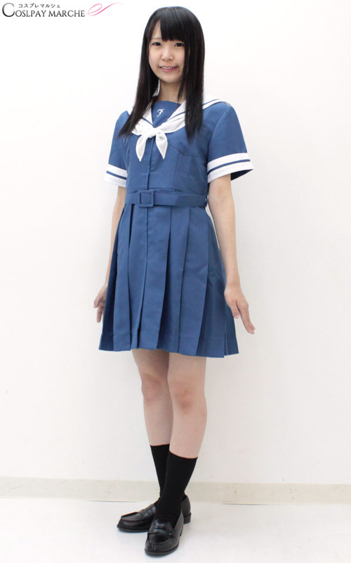 Cosmarche Cosplay Costume Uniform Jumper Skirt Puffy -2222