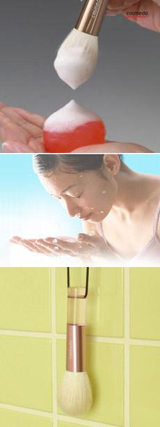 洗顔の方法