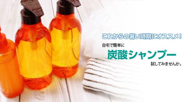 作り方 炭酸 シャンプー