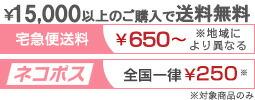 ¥15,000以上のご購入で送料無料