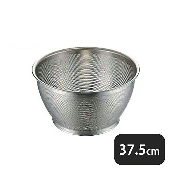 UK 18-8パンチング深型ザル 37.5cm (037124)