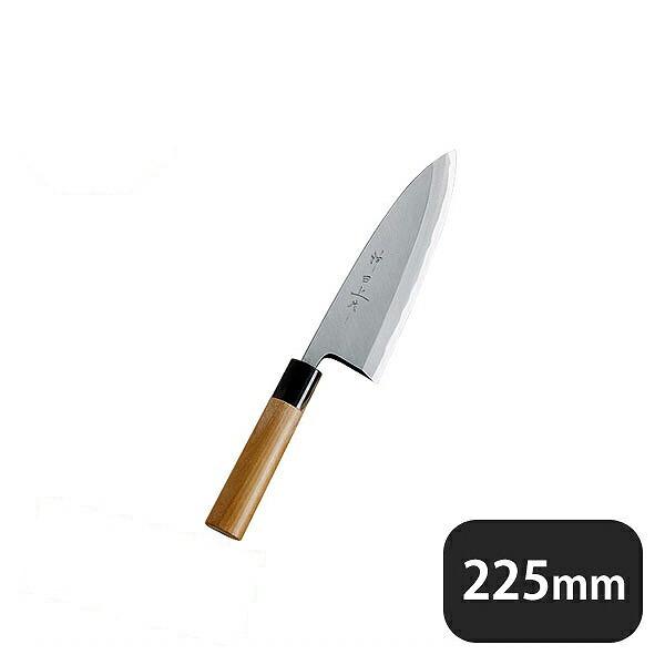 神田上作 出刃 225mm (129009)