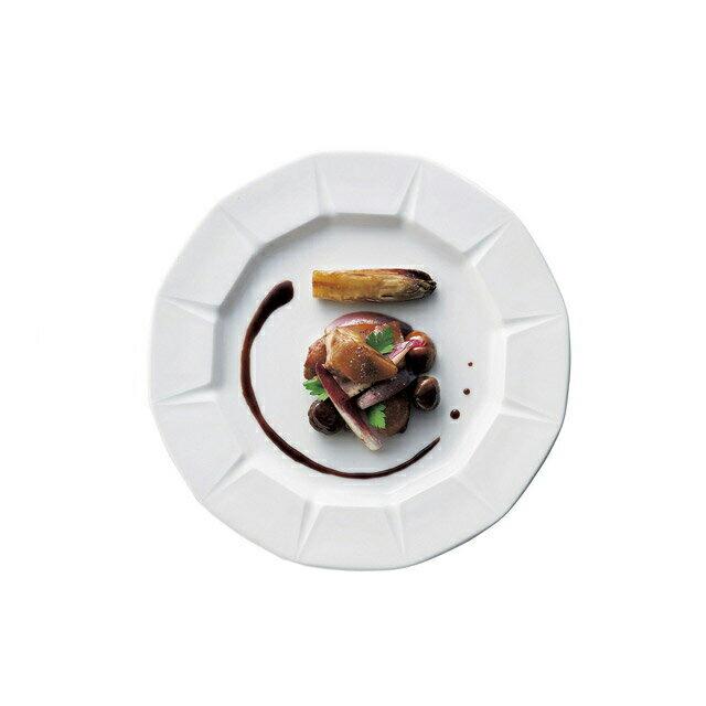 カネスズ ディナープレート12角 27cm皿(6枚セット) (12-90100404)