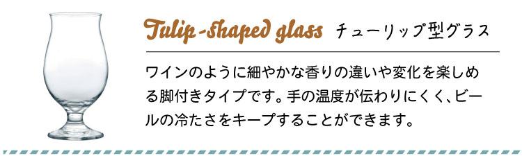 ビアグラス特集 クラフトビール チューリッブ型グラス