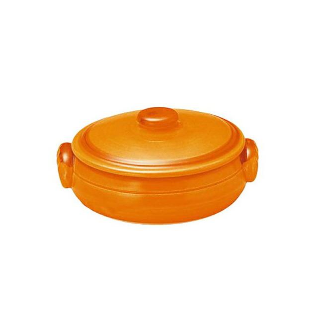 コーヨー クジーネ グロス オレンジ 17.5cm キャセロール 6枚セット (996476-6P)
