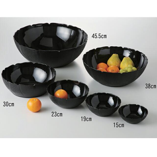 カーライル ペタルミスト ボール 19cm (ブラック) 36個セット (CR-3590)