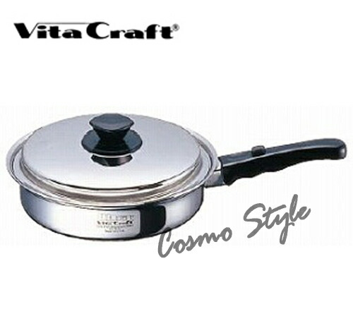 ビタクラフト ウルトラ フライパン(IH対応) 27cm (6-0021-0503) [業務用][Vitacraft][送料無料]