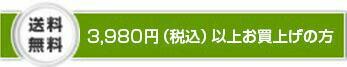 3,000円(税抜)以上お買い上げの方送料無料