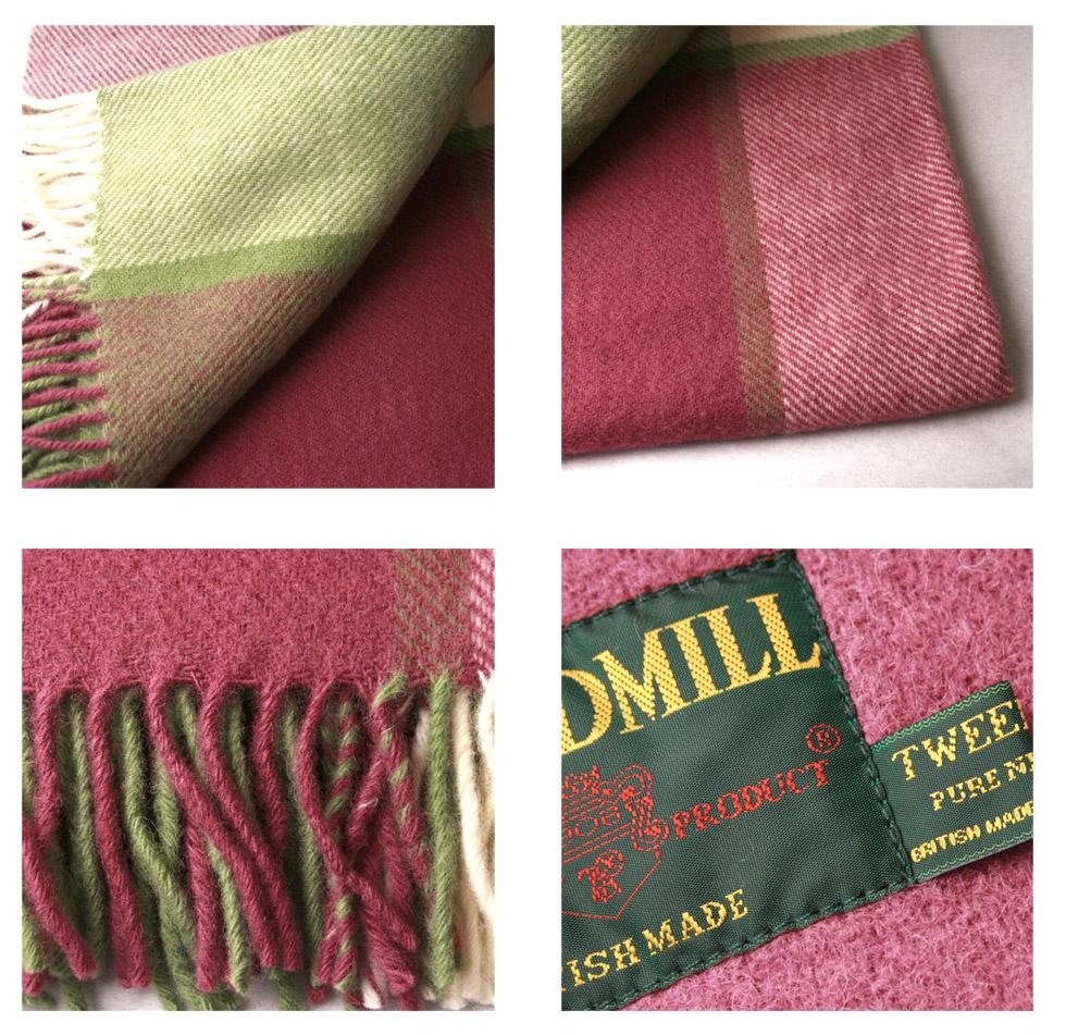 【楽天市場】イギリス製【Tweedmill Textiles】ツイードミル テキスタイルBLOCK CHECK