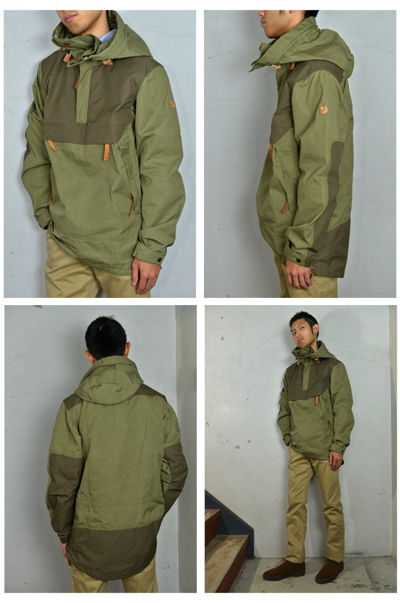 Cott  Club No 8 Anorak Anorak No  8 Green  Green