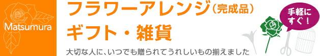 アレンジ(完成品)・ギフト