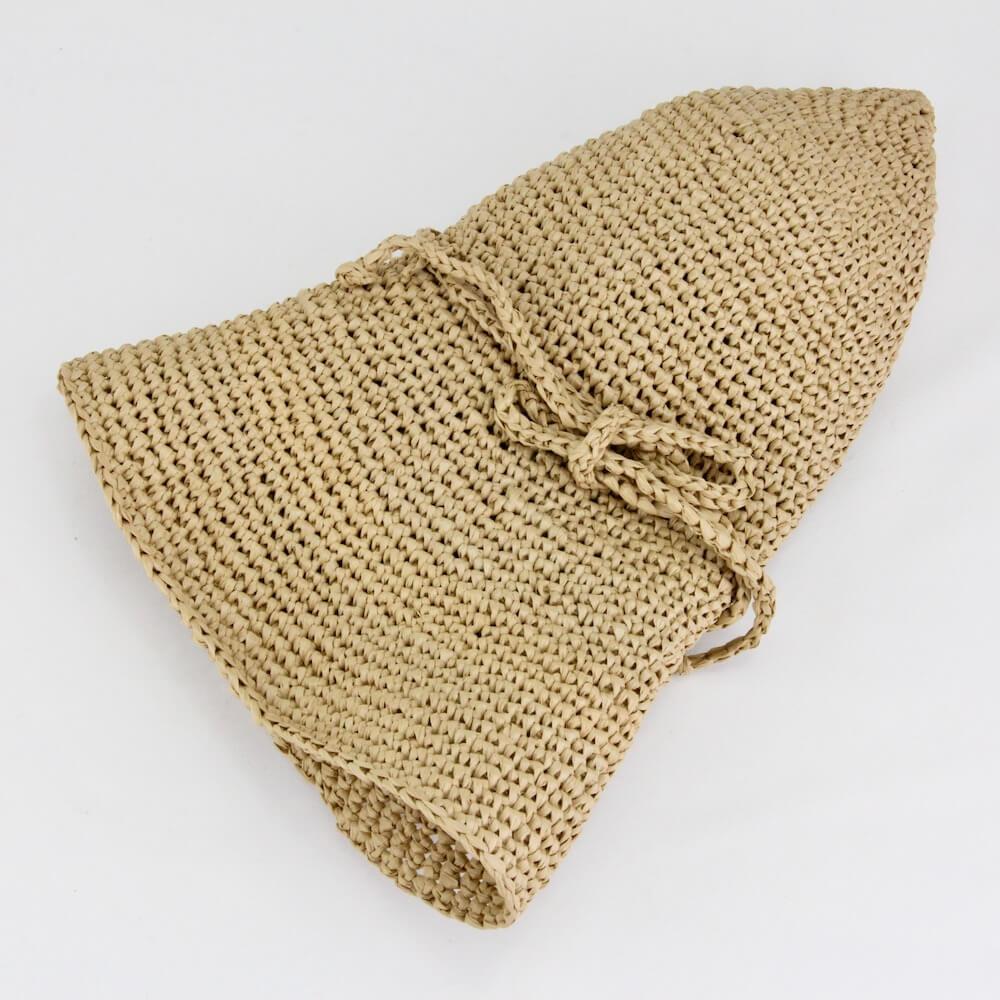 ラフィア 帽子 編み方 ラフィア 帽子 手入れ ラフィア 帽子 編み図 編み物 かぎ針 おすすめ