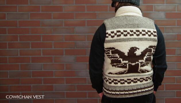 カウチンベスト(Cowichan Vest)