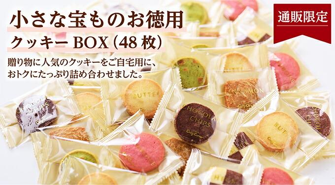小さな宝ものお徳用クッキーBOX(48枚)