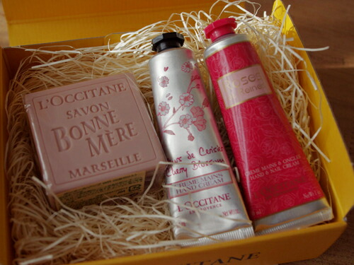Get Nice Packages Are Also A LOccitane Rose Hand Care Series