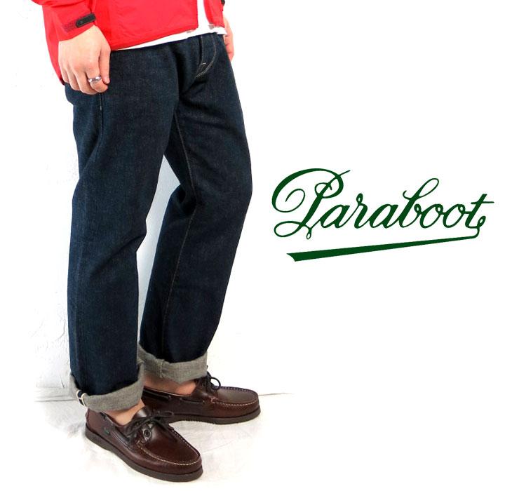 Paraboot/パラブーツ/#BARTH/バース/デッキシューズ/レザー/マリン/スペイン製/C.POINT/シーポイント